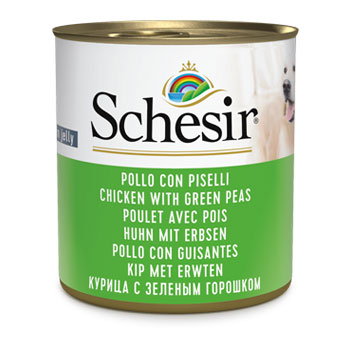 SCHESIR DOG - LATTINA285 gr Pollo e Piselli
