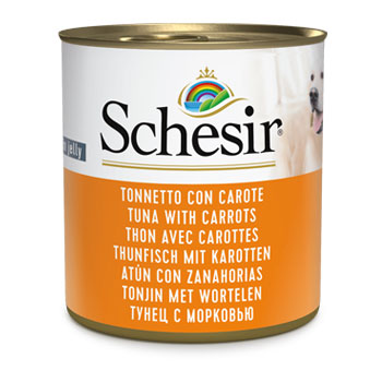 SCHESIR DOG - LATTINA285 gr Tonno e Carote