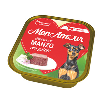 MONAMOUR DOG MANZO/PATATE 150 GR