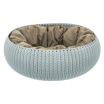 CURVER COZY PET BED GRIGIO