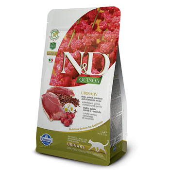N&D CAT QUINOA AD.URINARY  300GR