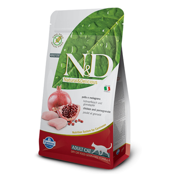 N&D CAT ADULT POLLO 300GR