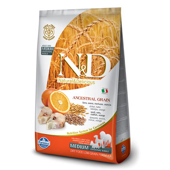 N&D ANC DOG ADULT MEDIO   2,5KG  MERLUZZO