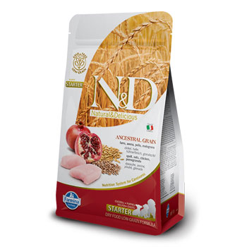 N&D DOG PUMP AGNELLO  2,5KG