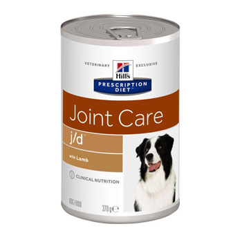 HILL'S DIET CANINE J/D 370 gr - Lattina