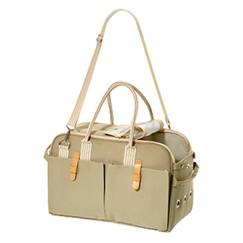 KARLIE BORSA SHOPPER CITY BEIGE - 37x12x27 CM