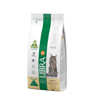 Libra Cat ADULT with CHICKEN & RICE 1,5KG