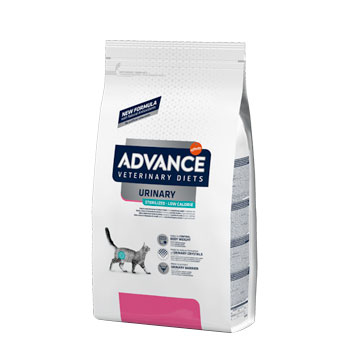 Advance Diet Cat URINARY STEILIZED LOW CALORIE 1,25KG