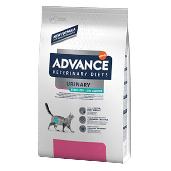 Advance Diet Cat URINARY STEILIZED LOW CALORIE 7,5KG