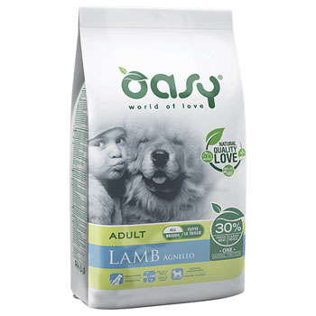 OASY DRY DOG ADULT AGNELLO 2,5 KG