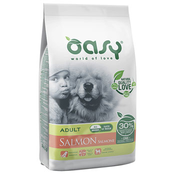 OASY DRY DOG ADULT SALMONE 2,5 KG
