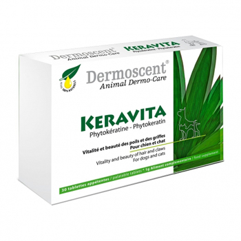 DERMOSCENT Keravita for dogs & cats  30 TAVOLETTE